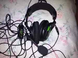 Turtle Beach earforce x12 headset ps3 xbox 360 VALEUR 60$