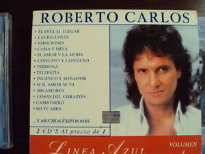 Roberto Carlos CD Collection