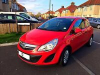 ***CHEAPEST ON NET*** 2013 Vauxhall Corsa 1.2 Red manual car similar focus astra fiesta a1 a3 bmw