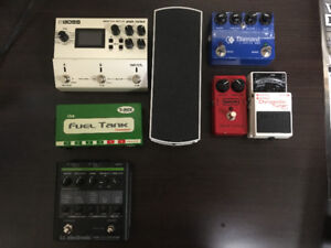 Guitar gear (guitar amp and pedals)