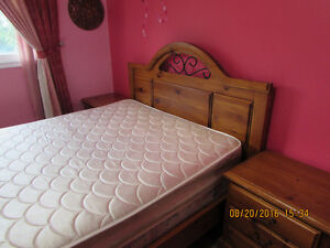 Solid Wood Queen Bedroom set