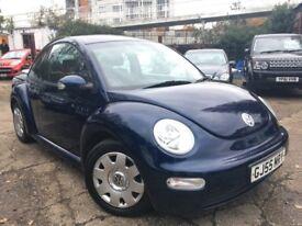 Volkswagen Beetle 1.6 (blue) 2005