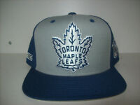 NEW : TORONTO MAPLE LEAFS CCM NHL SNAPBACK CAP CASQUETTE City of Montréal Greater Montréal Preview