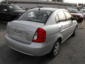 2007 ACCENT GL SEDAN  LOADED  5 SPEED  ONE OWNER-NO ACCIDENTS Windsor Region Ontario image 7