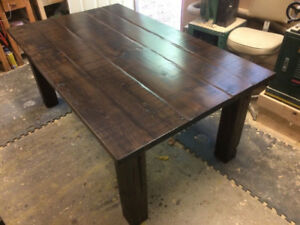 6' HARVEST TABLE & BENCH FOR SALE