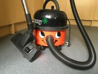 Henry Vacuum Cleaner with 5 spare bags and accessories