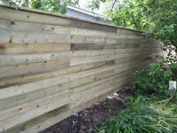Fences, Drill & Set Posts