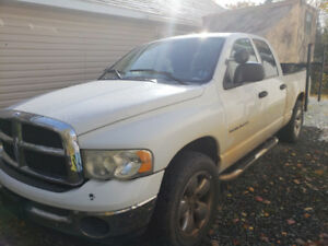 Dodge Ram 2003 Plus Camper 4,000 OBO BID ME DOWN, Hunting Season
