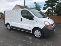 2006 06 RENAULT TRAFIC 1.9 SL27DCI SWB 100 BHP TESTED TILL APRIL 2019 DIESEL