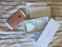 Rose gold iPhone SE (brand new)