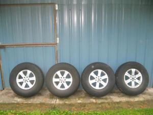 Nissan Tires and Alloy Wheels 16 inch