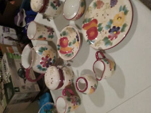 Dish set for sale