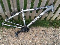 Trek 4400 and Trek 4100 Bike Frames
