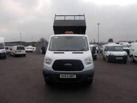 Ford Transit 2.2 Tdci 125Ps Chassis Cab DIESEL MANUAL WHITE (2014)