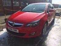 Bargain Vauxhall Astra 1.6 Sri full years MOT no advisories! Low miles, cheap tax
