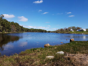 100 feet plus of ocean frontage  in the Mahone Bay Area
