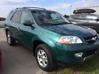 2002 Acura MDX SUV,7 seats,Leather,Sun roof,Super Clean!