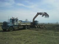 Equipment Operator for Commercial / Residential Excavation