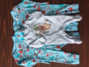 Baby Boy Clothes Lot, 0-3 months