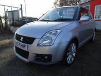 2007 Suzuki Swift 1.6 VVT Sport 3dr,FSH,2 keys,12 months mot,Warranty,Low rat...