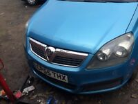 Vauxhall zafira 1.9 diesel for breaking
