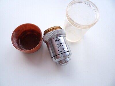 Lens 90125 Ph Phase Contrast Lomo Microscope