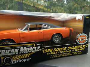 Dodge charger 1968 diecast Ertl die cast 1/18