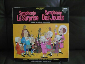 LIVRE-DISQUE-- SYMPHONIE LA SURPRISE-SYMPHONIE DES JOUETS
