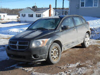 2008 Dodge Caliber black Wagon