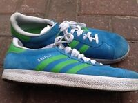 Adidas gezzelle trainers size 9 to clear