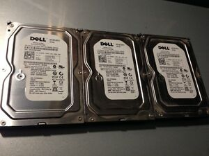 3x Dell 160GB Sata Hard Drives
