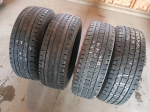 Studded L/T Winter Tires 275/65/R20