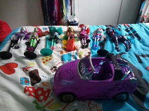 Monster high 10$/chaque