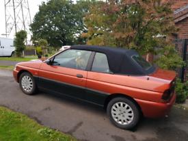 Ford escort calypso convertible