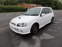 1998 Toyota Starlet Glanza V 1300 TURBO FRSH IMPORT TUNED 3dr