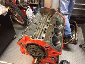 *REBUILT* 307 CI Chevy Small Block with extra parts!