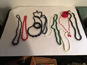 Bakelite Bracelets & Necklaces for SALe
