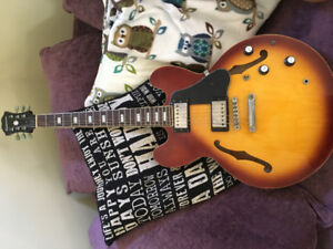 RARE Custom Shop Limited Edition Epiphone 335 Block