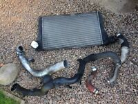 VOLKSWAGEN PD DIESEL FRONT MOUNT INTERCOOLER AND BOOST HOSES