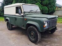 1983 Land Rover 110 Pre Defender 1 owner,200Tdi & 5 speed Box, Damaged, Salvage