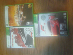 Selling 3 Xbox 360 Games