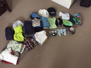 Brand Name baby boy clothes package 12-18 months 60+ items