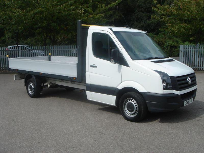 Volkswagen Crafter 2.0 Tdi 136Ps Chassis Cab DIESEL MANUAL WHITE (2016)