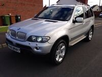 2006 BMW X5 3.0D SPORT FACELIFT GLASS ROOF SAT NAV XENONS TOP SPEC