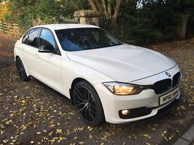 2012 White BMW 320d SPORT F30 ' M Performance Pack'