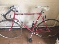 Triumph road bike 25 pounds