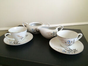 Vintage Japanese Fine Bone China Tea Set