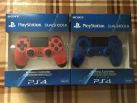 SONY PLAYSTATION 4 CONTROLLER ALL COLOURS AVAILABLE - BRAND NEW & SEALED / PS4 DUALSHOCK 4