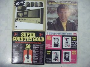 FOR SALE OLD RECORDS COUNTRY ROCK&NFLD