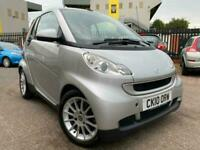 2010 smart fortwo cabrio CDI Passion 2dr Auto CONVERTIBLE * £0.00 ROAD TAX CONVE